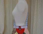 Handmade scrap piece quilted purse....Multi colored....