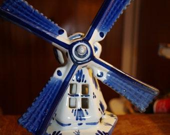 Delft Porcelain Windmill
