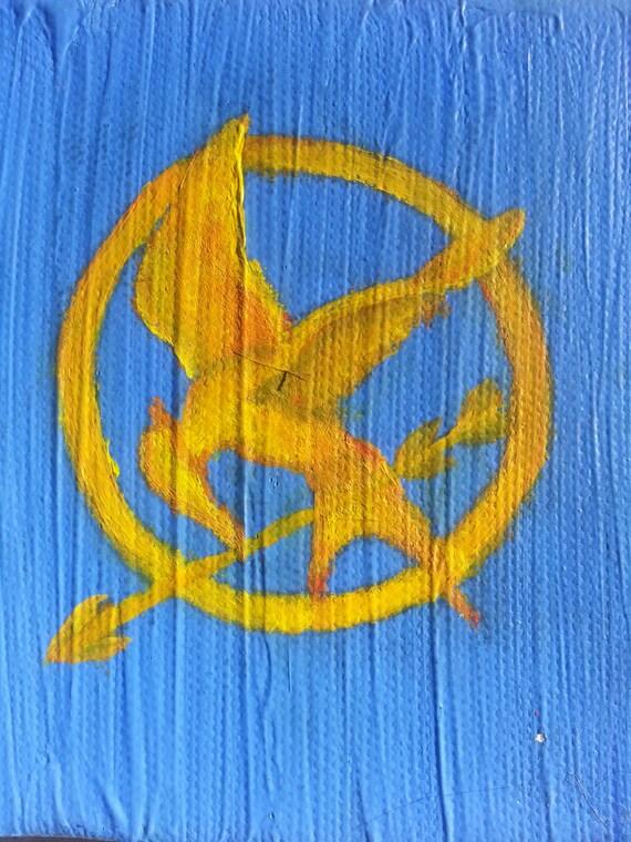 Mockingjay Painting