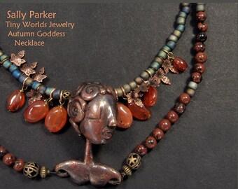 Autumn Goddess Necklace