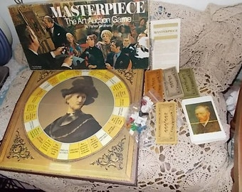 1970 Masterpiece Board Game/Not included in Coupon Discount Sale/New Listing:)S