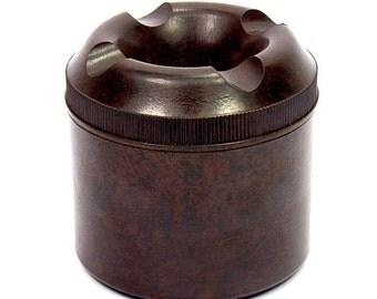 Vintage Mid 20th Century English Excelite Bakelite Ink Well New Old Stock