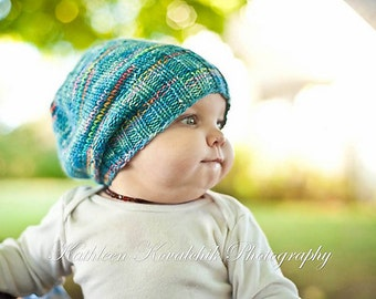 PDF PATTERN Darling Little Slouchy hat