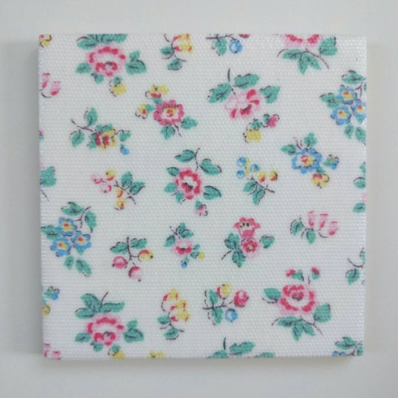 4 x 100mm shabby chic ceramic wall tiles in cath kidston for Shabby chic wall tiles