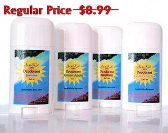 SALE! Green Apple Deodorant - Natural Deodorant - Aluminum Free - Propylene Glycol Free - 2.65oz