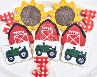Farm Barnyard Cookies