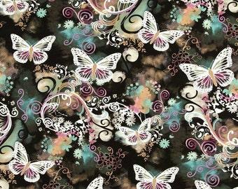 Planner Cover - In Michael Miller Flutter Fabric - f2