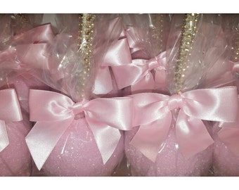 All about that BLING! Shimmer Glimmer Candy Apples 30 per order