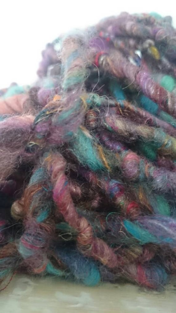 Eastern Promise Super Bulky Yarn With Wool And Recycled