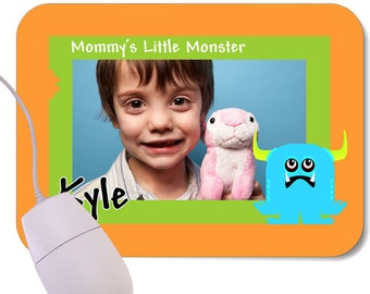 Customized Photo Little Monster Mouse Pad