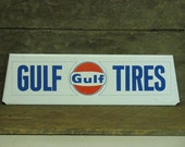 Great GULF Gas Station Tire Sign - small