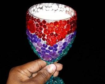 Personalized Wine or Martini glasses