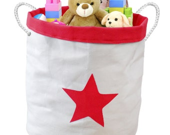 SALE- reduced from 32.99 - Toy Storage Bin Container Basket