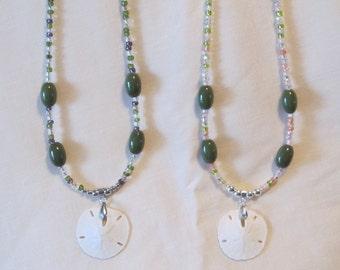 Genuine Sand Dollar Necklace