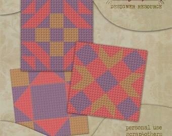CU Digital Quilt Block Templates Set 6
