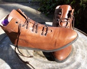 Vintage Vaneli Booties, 7 1/2 M Brown
