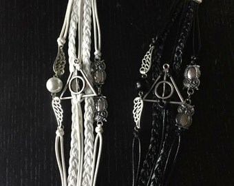 harry potter armband etsy. Black Bedroom Furniture Sets. Home Design Ideas