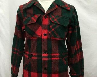 70's LL Bean Woollen Plaid Shirt/Jacket