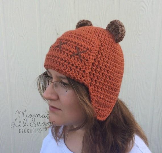 Ewok Hat: Ewok Inspired Hat Ewok Hat Star Wars Inspired Hat Yub Nub