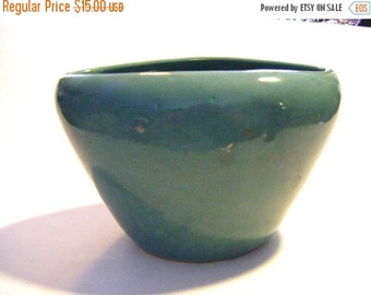 25% Off Storewide Sale Gorgeous Antique Piece of Green Art Pottery From New England Estate Displays Beautifully