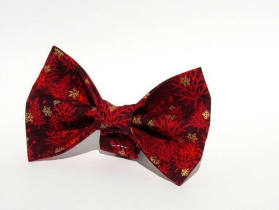 Christmas Bow Tie, Christmas Dog Bow Tie, Dog Bow Tie, Bowtie, Christmas Bow, Doggy Bowtie