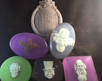 Haunted Mansion Soaps Set Body Bars