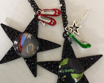Wizard of Oz and Wicked Necklaces