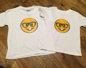 Nerd Emoji tshirt