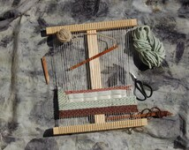 Tennessee Travel Loom, Handmade Loom, Tapestry Loom Kit, Small Loom Kit