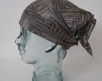Vintage Silk Head & Neck Scarf