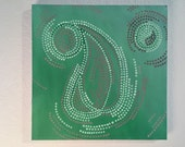 ENVY original one of a kind abstract oil painting art