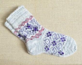 Mens Angora Wool Socks Thermal Dress Hiking Camp Big Size NEW