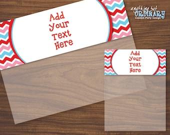 Valentine Smores Bag Topper DIY Labels Editable Smore Treat