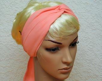 Hair scarf, headband, long scarf, hair covering, head scarf, hair accessory , 150 x 8 cm