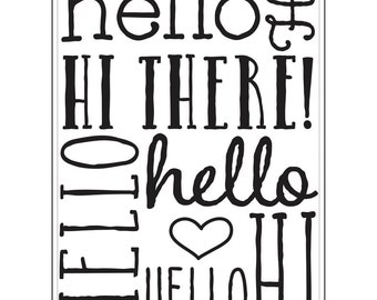 HELLO !!  HI THERE !!  - EMBOSSiNG A2- Now in Stock !   Darice  EMBOSsING FoLDeR - Loads of Fun !