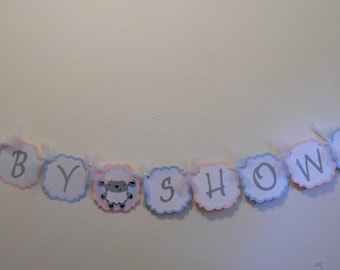 Gender Reveal Banner - Gender Reveal Baby Shower Banner