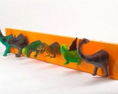 Dinosaur Coat Rack (any color)