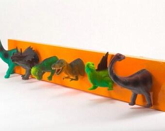 Dinosaur Coat Rack (any color)