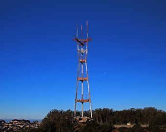 Sutro Tower-horizontal (FREE shipping in the U.S. only)