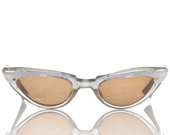 ON SALE 1950's Cat Eye Glasses - American OPtical