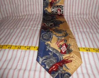 Tabasco Necktie-100% Silk