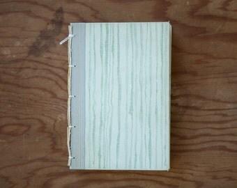 handmade journal - hard bound journal - vintage