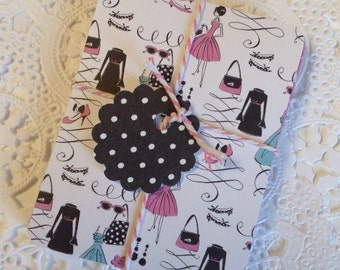 Handmade Journal Cards, Journaling Cards, Project Life Cards, Journal, Scrapbook,