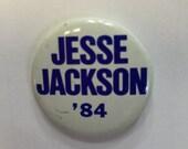 Jesse Jackson campaign pin 1984