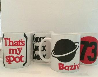 Big Bang Theory Mug Set