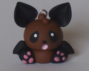 Polymer Clay Li'l Fruit Bat