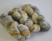 Hand dyed yarn pick your base - Sailor - sw merino cashmere nylon fingering dk worsted