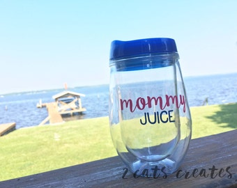 Mommy Juice Wine Tumbler