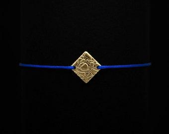 Golden Rhombus Bracelet | 18K goldplated
