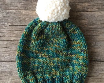 Moss Knit Ladies Toque